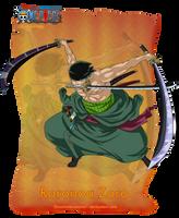 Roronoa Zoro by orochimarusama1