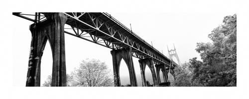 St Johns Bridge 2014 by sirgerg