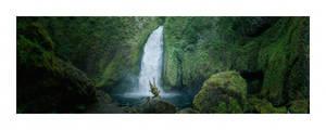 Wahclella Falls by sirgerg