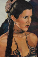 Slave Leia - Return of the Jedi by EclepticGears