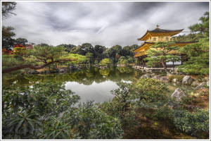 Kinkaku-ji, Kyoto by Graphylight