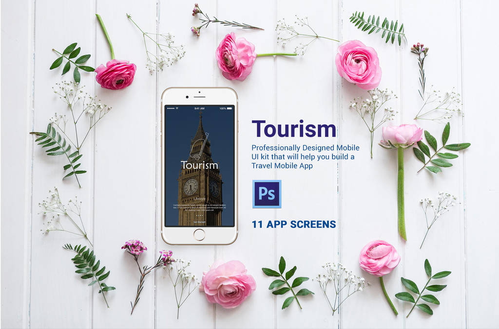 Travel Mobile App Design by designpex