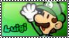 Stamp - Luigi - SPM by CutyAries