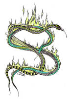Snakes of Slytherin by AKrukowska