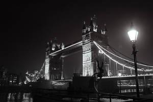 Tower Bridge at Night by AKrukowska
