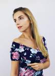 Dress made of Roses by AKrukowska