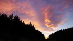 Rasnov Sunset by AKrukowska