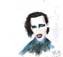 Marilyn Manson by AKrukowska