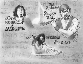 My Musical Heroes by DavidFolkie