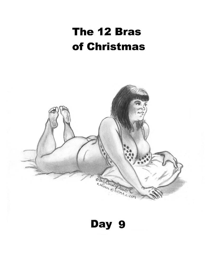 Jess 12 Bras: Day Nine by DavidFolkie
