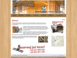Ski-house.pl by rzepak