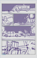 Maniac Page 1 Rough by spazzCommander