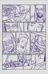 Maniac Page 3 Rough by spazzCommander