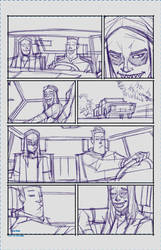 Maniac Page 4 Rough by spazzCommander