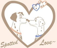 Pongo and Predita by Beastwithaddittude