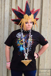 Yugi casual cosplay by Beastwithaddittude
