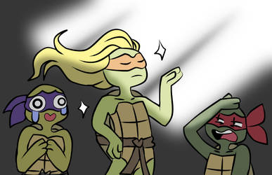 Draw your squad TMNT by Beastwithaddittude