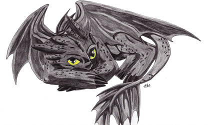 Toothless by ChibiMieze