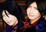 Kiru and Gackt by Great-Guardian
