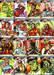 Marvel masterpieces 2007 by skulljammer