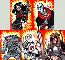 MoD Cobra elite cards by skulljammer