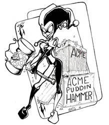 Harley new toon style by skulljammer