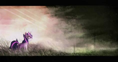 Imminent Storm by CrutonArt