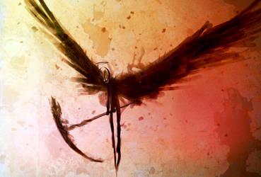 Angel of Death by CrutonArt