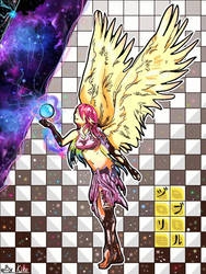 Jibril - No game no life by Saphyra991