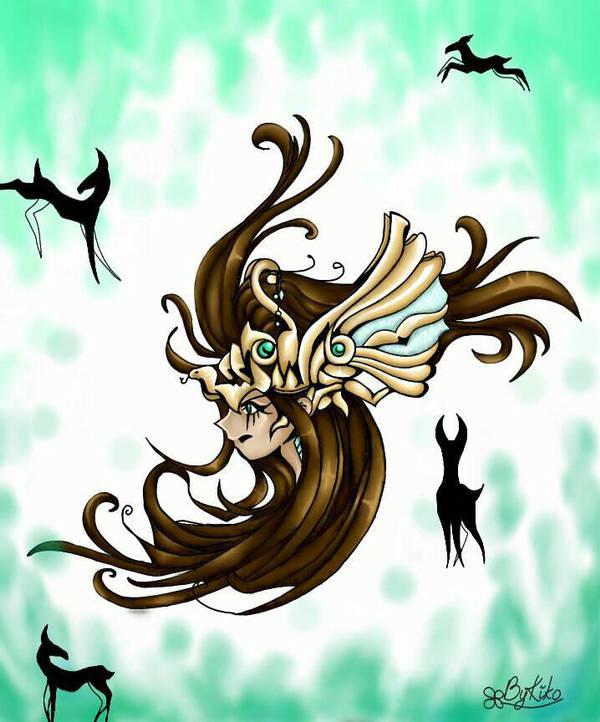 Jade priestess by Saphyra991