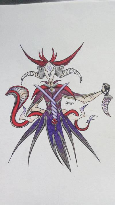 Paladins Mamdamba skin concept by Saphyra991