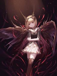 Scarlet Crow by HiuLI
