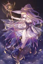 sorceress by HiuLI