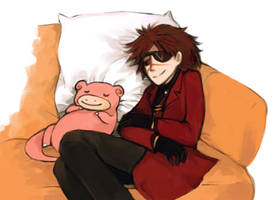 WILD SLOWPOKE APPEARS by TotenVeloren