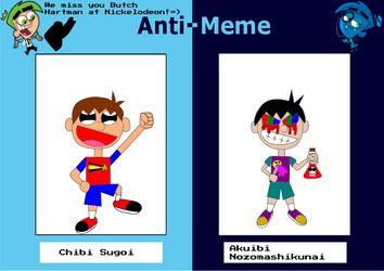 Chibi's Anit-meme by EthanBurnesMKDM