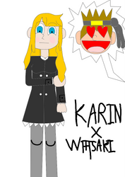 AT Karin (Art trade with Ask AliceGF) by EthanBurnesMKDM