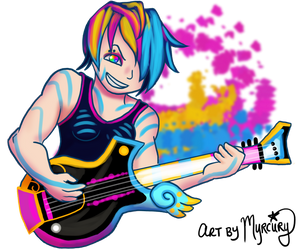 Gaia Rockstar by Myrcury-Art