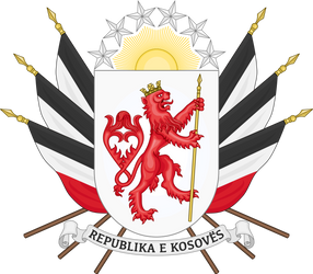 Coat of Arms of Kosovo by HouseOfHesse