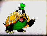 Turtle Goofy by The-Fuzzy-Squeaker