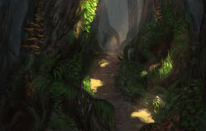 Forest Path by Vovosunt