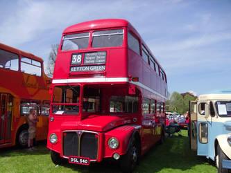 Red Bus by devonhants