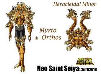 Myrto  del  cane  infernale  Orthos by nirti