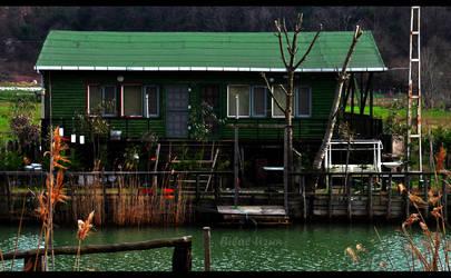 Green Cottage by bilaluzun