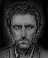 Hugh Laurie - House M.D. by littel-lit