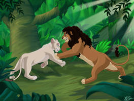 Lovers In The Jungle by KingSimba