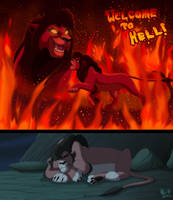 Kovu's Worst Nightmare by KingSimba