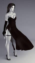 Lara Croft - Classy Assassin by saqune