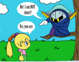 Yeah, mety's short... by MischiefLily