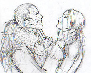 Sabretooth vs. Mystique by Pojypojy