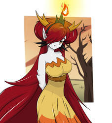 Hekapoo - Star vs the Forces of Evil by Galatoth